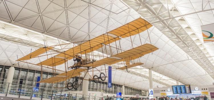 香港航空史的見證