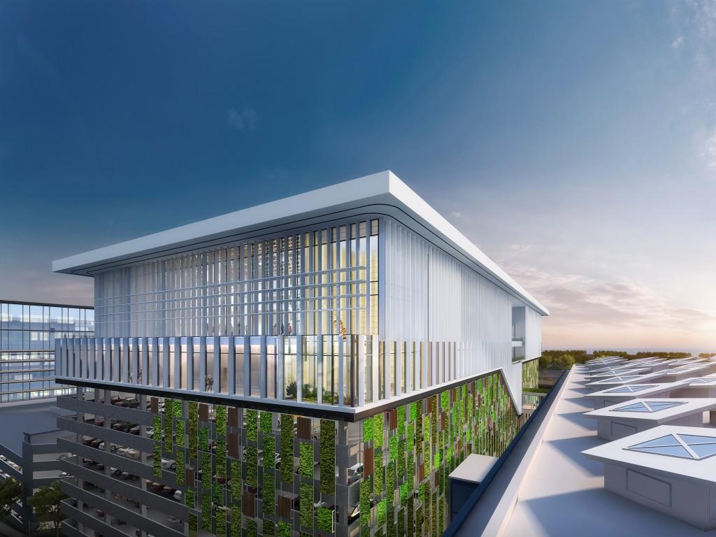 機管局正興建香港國際航空學院的永久設施,預計2019年年底前落成。