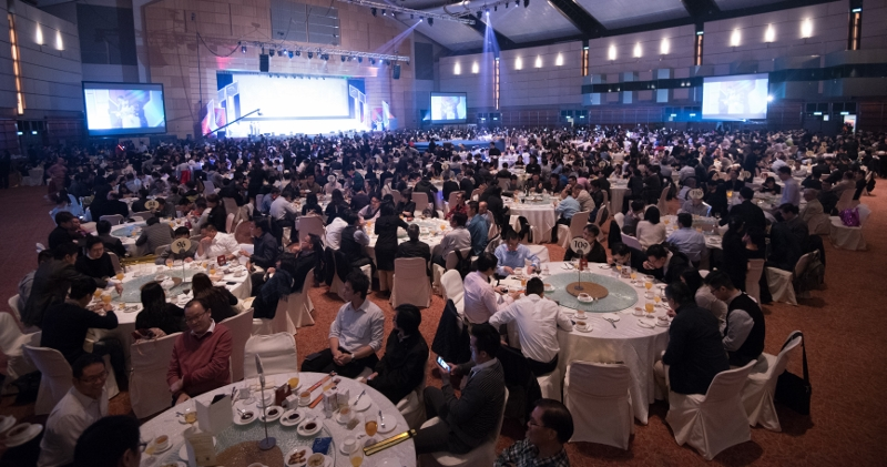 機管局周年聚餐的菜式選用環保海鮮,以響應其環保用膳政策。