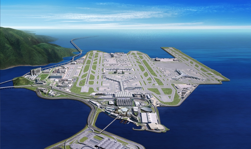 建設機場城市是香港國際機場願景,希望鞏固香港航空樞紐地位。