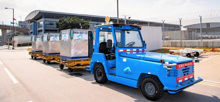 機場首推無人拖車