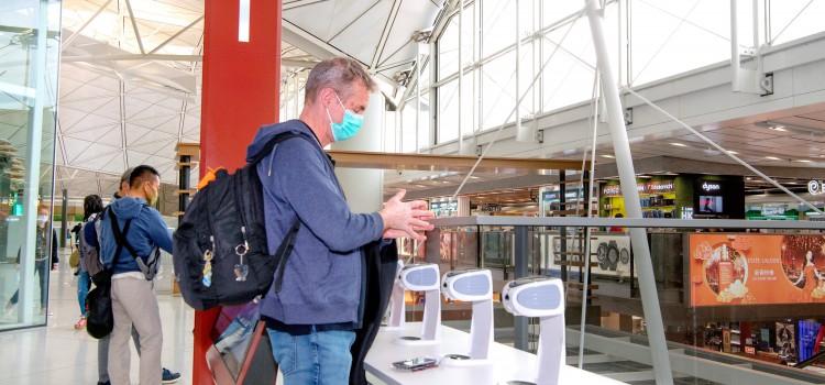 機場推行全方位防疫