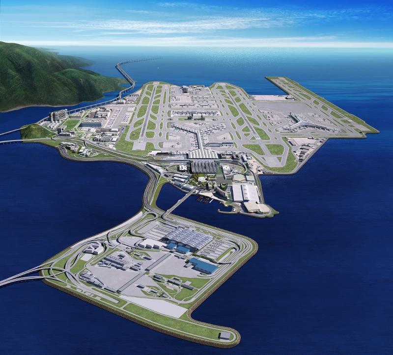 機管局正逐步落實「機場城市」願景中的各項計劃,預計於未來十年分階段完成。